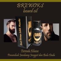 Jual Beard Oil Brewok | Obat Penumbuh Jenggot Jambang dan Bulu Dada Murah