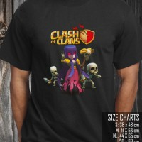 KAOS / T-SHIRT DISTRO GAME / GAMERS CLASH OF CLANS-COC (KODE: BP-585)