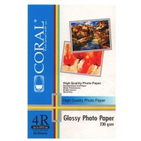 CORAL GLOSSY 4R 230GR