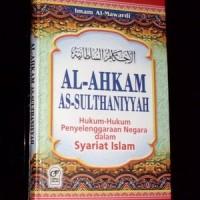 Buku Al Ahkam As Sulthaniyyah Sistem Politik Islam
