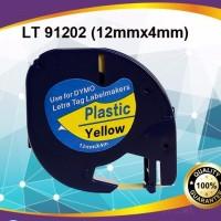 harga Label Letratag Dymo-Colored Plastic Tapes for LetraTag-Dymo Letratag Tokopedia.com