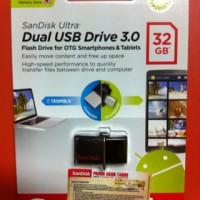 harga Flashdisk Sandisk 32 Gb Dual USB Drive 3.0 OTG USB 3.0 + Micro USB Otg Tokopedia.com