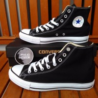 harga Sepatu Converse All Star (High) Black White Original Tokopedia.com