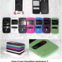 [M.G]Flipcover/Flip Cover Case Double View Smartfren Andromax I2