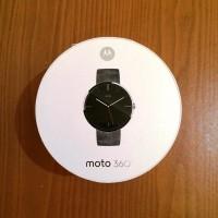 harga Moto 360 - Stone Leather (Grey) Tokopedia.com