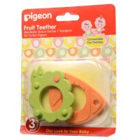 Mainan gigitan bayi PIGEON Fruit Teether vegetable design 2 pcs