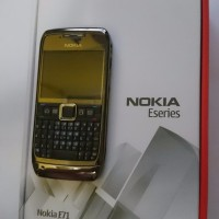 Nokia E71 Grey Steel