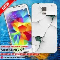 Premium Garskin Samsung S5/ Replika - Wall Cracked