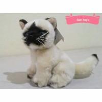 Boneka Kucing Siam (Siamese Cat)
