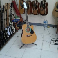 gitar akustik electrik samick EQ sunrise