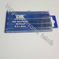 Mini Drill Mata Bor Spuyer PCB Isi 20pcs
