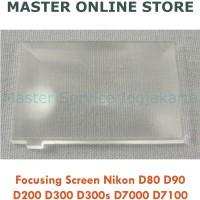 Focus Focusing Screen Kamera Nikon D80 D90 D200 D300 D300s D7000 D7100