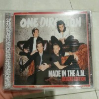 CD ONE DIRECTION - MADE IN THE A.M. DELUXE (CD CASE) IMPORTED U.K.