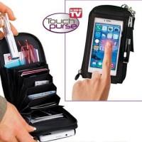 harga Touch Purse Dompet Hp Bb Multifungsi As Seen Tv Smart Phone Aksesoris Tokopedia.com