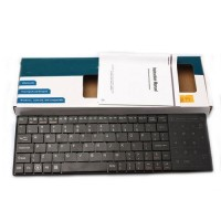 Wireless Bluetooth 3.0 Multimedia Keyboard with Touchpad For Apple IOS