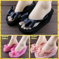 harga sandal korea / sandal pita / sandal ribbon Tokopedia.com