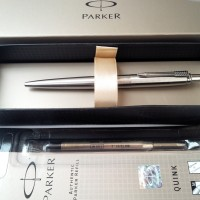 PAKET 1 KLIK: 1 pc Parker Jotter SS BP+1 pc Refill BP