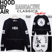 HBA HOOD BY AIR RADIOACTIVE CLASSICS SWEATER - CHAELIN CL 2NE1