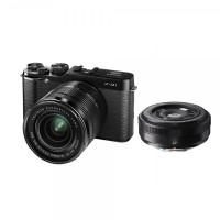 Fujifilm X-M1 Double Kit XC16-50mm F / 3.5-5.6 OIS & XF27mm F / 2.8 Kamera