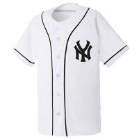 Jual baju baseball NY white Murah