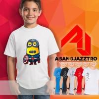 Jual Kaos Anak, Kaos Distro, Kaos Oblong - Kaos KARTUN MINION 4 Murah