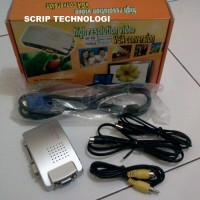 VGA to TV RCA Converter - Converter PC to TV