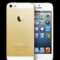 Apple iPhone 5-GOLD [64 GB] GSM-ORI GARANSI PLATINUM/TOP 1 TAHUN