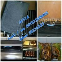 Panggangan sehat batu bakar