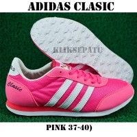 harga sepatu adidas neo /sepatu casual adidas / Adidas Neo Classic Pink Tokopedia.com