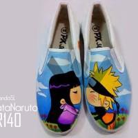 harga Sepatu Lukis Naruto Shipuden Tokopedia.com