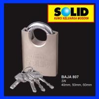 Gembok Baja SOLID 807 40 mm