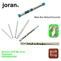 6mm x 100mm Masonry Drill Bit / Mata Bor Beton Joran (Registerd)