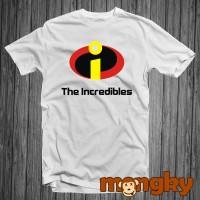Baju Kaos Putih The Incredibles Kereen