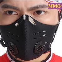 Masker Pengendara Motor Setengah Muka Penyaring Anti-polusi MM041