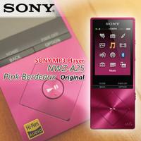 SONY MP3 Player NWZ-A25 Pink Bordeaux Original