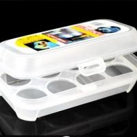 harga Kotak Penyimpanan Telur Plastik Semi-transparan (isi 8) Tokopedia.com