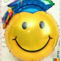 balon foil wisuda graduation 1 meter
