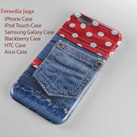 blue jeans With red fabric apple iphone 5,hard case,iphne cse,smua hp