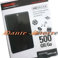 Hard Disk External 500GB TOSHIBA