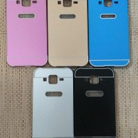 Samsung Galaxy J5 Aluminium Bumper iphone 6 style (2 in 1)
