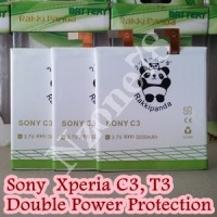 BATERAI SONY XPERIA C3 T3 D2533 RAKKIPANDA DOUBLE POWER PROTECTION