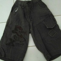 Celana Pendek Anak Laki Jeans Tebal - Second