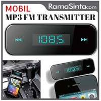 harga Car MP3 Player FM Wireless Transmitter Mobil for iPhone Samsung LG dll Tokopedia.com