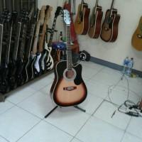 harga Gitar Akustik Elektrik Samick Natural Blackburst Tokopedia.com