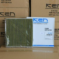 KEN Filter AC Mobilio / Brio Satya. Tipe High grade Carbon Active