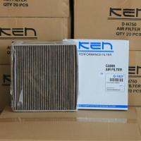 KEN Filter AC Mobilio / Brio Satya. Tipe Premium Carbon Active