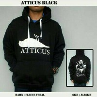 Jaket Atticus Hoodie Jumper Black