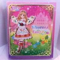 Binder Album Official Kartu Aikatsu Aurora Fantasy Bohemian Sky