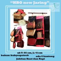 Hanging Bag OrganizerJaring (HBOK) Rak Tas