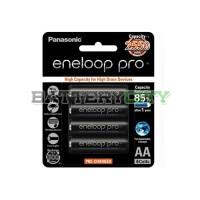 Eneloop PRO Panasonic AA 2550mAh isi 4 Baterai